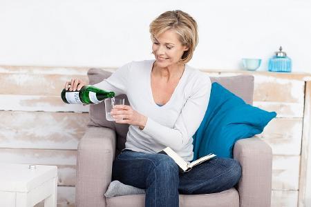 Knochenschutz zum Trinken: Kalziumreiches Heilwasser