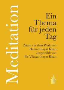 Meditation - Ein Thema für jeden Tag - Buchcover Taschenbuch