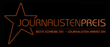 "Internationales Magazin VALUES & LIFE - Werte leben vergibt ""Journalisten Award 2011"""