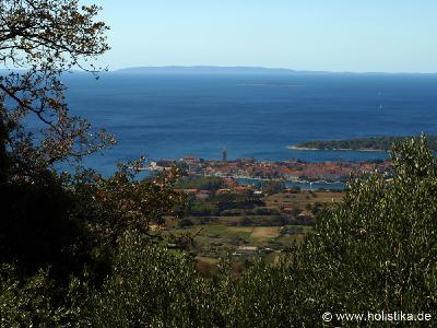 Rab ist die Hauptstadt der gleichnamigen, kroatischen Insel.