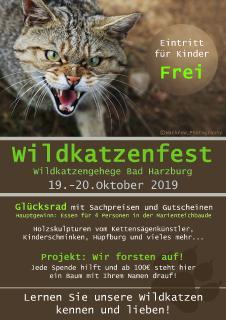 Wildkatzenfest Flyer