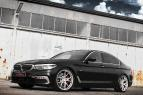 BMW 5-Series G30 with Barracuda Inferno and Virus wheels