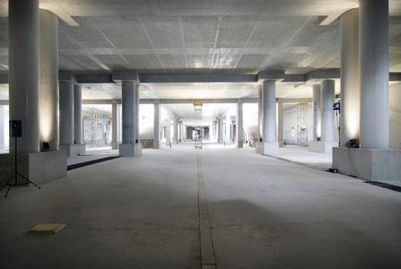 Die Berliner Flughäfen haben die Arbeiten am ersten 185 Meter langen Teilabschnitt des Bahnhofsrohbaus termingerecht abgeschlossen. Dieser Abschnitt bildet das Fundament für das BBI-Terminal