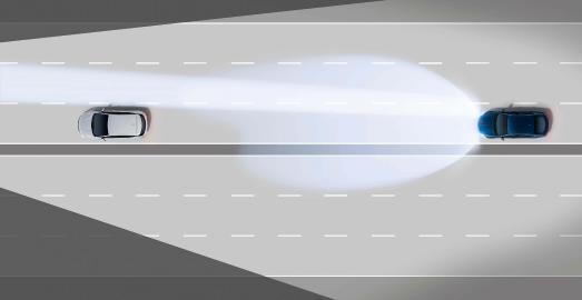 Opel Insignia IntelliLux LED High Beam Spotlight