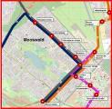 Liniennetz 2018 Mooswald