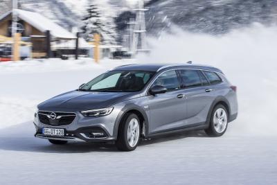 Fahrspaß, aber sicher: Mit dem Opel Insignia Country Tourer samt innovativem Twinster-Allradantrieb mit Torque Vectoring
