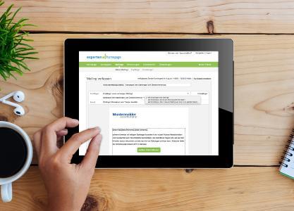expertenhomepage Mailing-Tool | (c) expertenhomepage GmbH / graphicgoogle.com