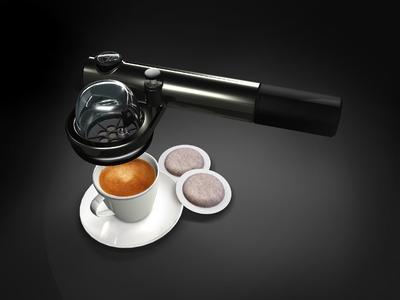 Design für Genießer: handpresso®, die kleinste und tragbare Espressomaschine der Welt.