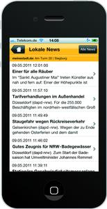 iphone lokale news
