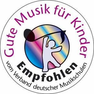 Gute Musik für Kinder - Empfohlen vom Verband deutscher Musikschulen logo