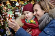 Strahlende Kinderaugen beim Adventszauber Ingolstadt
