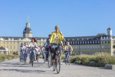 Karlsruhe erFAHREN: eine Stadtrundfahrt mit dem Fahrrad