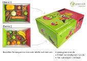Obstbox mit Impressum
