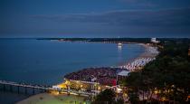 Open-Air-Konzerte direkt am Strand gibt es über zwei Monate verteilt und geballt an der Ostsee Schleswig-Holstein (Hier Timmendorfer Strand). Foto: Olaf Malzahn