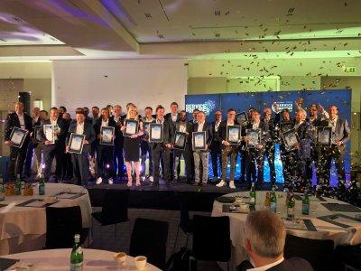 Die GewinnerInnen unserer großen Leserwahl wurden auf dem SERVICE PROVIDER SUMMIT 2021 feierlich gekürt / Foto: Katharina Rimkus / Vogel IT-Akademie