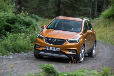 Spitzenreiter: Auch im ersten Quartal behauptete sich der Opel Mokka X deutschlandweit als die Nummer eins im SUV-B-Segment