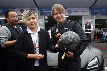 Cao Fei, Augusto Farfus, FIA GT World Cup, Macau