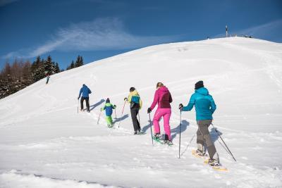 Schneeschuh-Wandern in den Hörnerdörfern im Allgäu