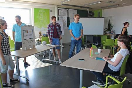 """Innovation Camp"" im Kreativlabor ViNN:Lab der TH Wildau"