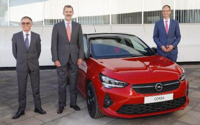 Production of new Opel Corsa Starts in Zaragoza