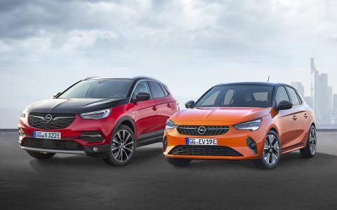 Opel Grandland X Hybrid4 & Opel Corsa-e