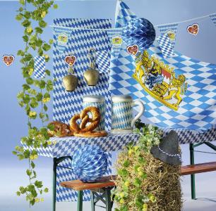 Zünftige Oktoberfest-Deko / Bildvermerk: www.dekowoerner.de