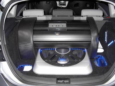 Das Blaupunkt Sound & Safety Car in Sinsheim