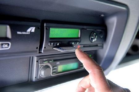 Muss immer aktuell und dabei sein: die Fahrtenschreiberkarte