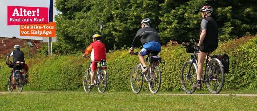 Alter! Rauf aufs Rad! Die Bike-Tour von HelpAge