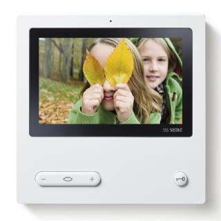 Bester Durchblick: Das Siedle Video-Panel sorgt auch bei bunten Aussichten für ein optimales Bild vom Eingang