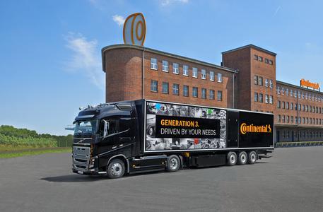 Mit der Generation 3 bietet Continental zwei neue Reifenfamilien für den Güterverkehr an