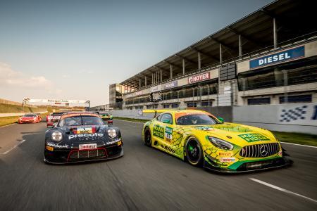 Wettbewerber ADAC GT Masters 2019