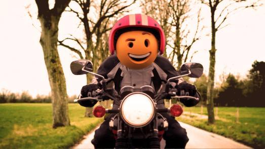 Emoji Biker