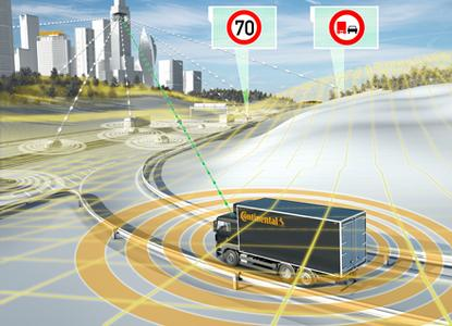 Continental entwickelt automatisiertes Fahren auch für Nutzfahrzeuge
