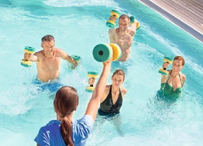 Bewegungskurse im Urlaub – Schlüssel zu mehr Fitness im Alltag Foto:  Kur- und GästeService Bad Füssing
