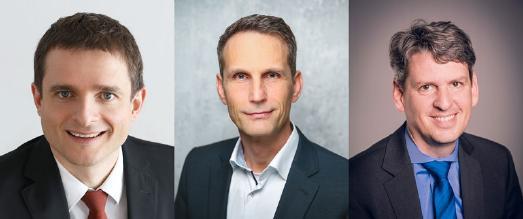 Vorstand der Adventisten in Baden-Württemberg: Eugen Hartwich, Thomas Knirr, Helge Külls (v.l.n.r.) © bwv.adventisten.de