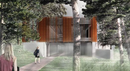 Nach Architektenwettbewerb: Naturparkhaus für Mardorf nimmt Formen an