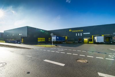 Das neue Logistikzentrum der Happich GmbH powered by Touratech