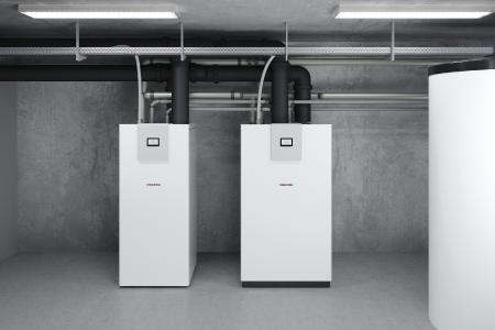 WPE-I H Premium von Stiebel Eltron: Erdreich-Wärmepumpen mit Inverterregelung für große Bedarfe bis zu 1,4 Megawatt.