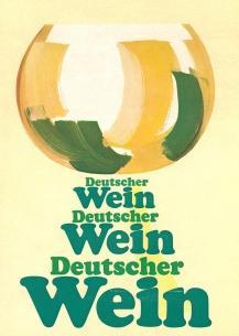 Weinwerbung 1967