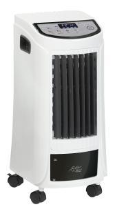 Sichler Haushaltsgeräte 3in1-WLAN-Luftkühler LW-480.wlan, Luftbefeuchter und Ionisator, App, Fernbedienung / Bild: PEARL. GmbH / www.pearl.de