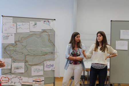 Präsentation der ersten Ideen für den ehemaligen Steinbruch am Piesberg