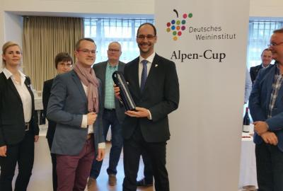 Stefan Schachner gewinnt den Alpen-Cup des DWI