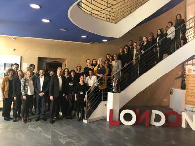 Teilnehmer des Education Days im Haus der Bayerischen Wirtschaft