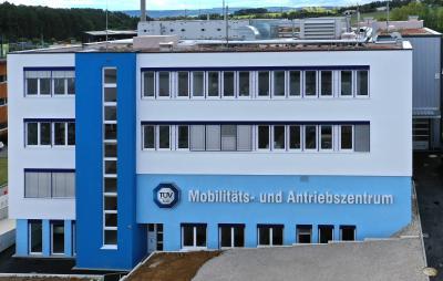 Eine neue Säule für den Auto-Cluster Baden-Württemberg: Das TÜV SÜD Mobilitäts- und Antriebszentrum am Standort Heimsheim