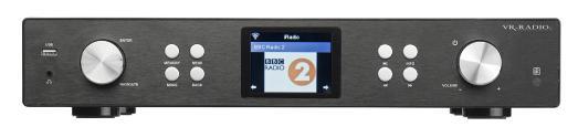 ZX 1738  VR Radio Digitaler WLAN HiFi Tuner m. Internetradio IRS 710.HiFi / Copyright: PEARL.GmbH / www.pearl.de