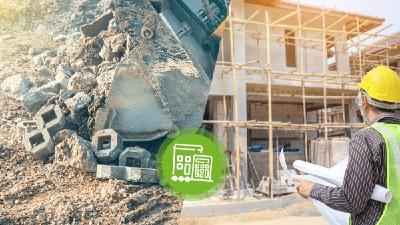 Vor allem die Recyclingkosten für ein Einfamilienhaus mit Keller sind in den vergangenen Jahren explodiert
