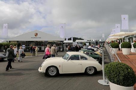 Porsche auf dem OGP