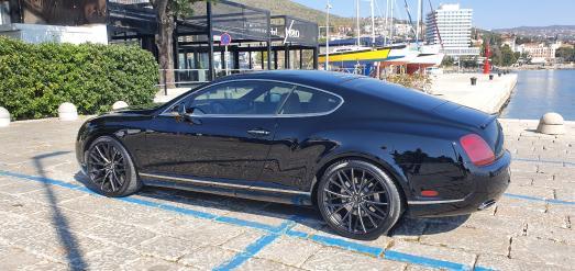 Barracuda Racing Wheels Europe: Bentley Continental GT mit Ultralight Project 3.0 - Nobler Gentleman mit leichten Rädern