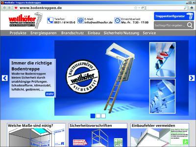 Bodentreppen.de Screenshot